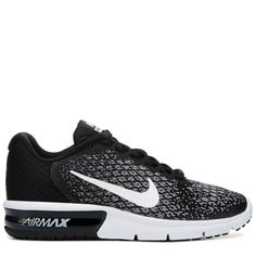 promo code fd7a4 a97c6 Nike Women s Air Max Sequent 2 Running Shoes (Black White) https