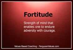fortitude - Google Search