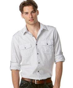 American Rag Men's Thin Stripe Button Down Shirt grid iro... https://www.amazon.com/dp/B0030KGX76/ref=cm_sw_r_pi_dp_x_l36pybGPN51QC Extra Large