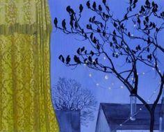 "Saatchi Art Artist Lara Cobden; Painting, ""Dawn Chorus"" #art"