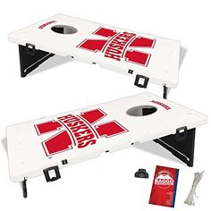 Baggo 1983 University of Nebraska Cornhuskers Complete Baggo Bean Bag Toss Game * Details can be found by clicking on the image.Note:It is affiliate link to Amazon.