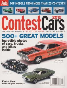 Scale Auto Special Issue Magazine Contest Cars « Library User Group