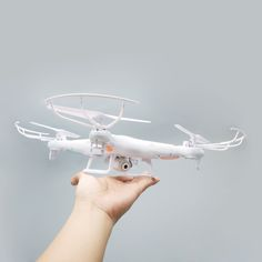 SYMA X5C 2MP HD FPV Camera 2.4GHz 4CH 6Axis RC Helicopter Quadcopter Gyro 2GB TF Card