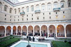 How about a wedding at the Boston Public Library? A historic spot for your historic event.