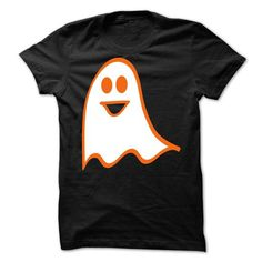 Halloween Happy Ghost T Shirts, Hoodie. Shopping Online Now ==► https://www.sunfrog.com/Funny/Halloween-Happy-Ghost-T-Shirt.html?41382