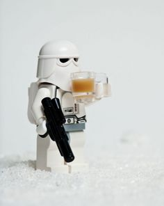 YES, even stormtroopers need their coffee.