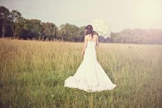 Lovely photo with parasol