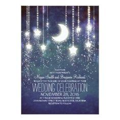 Plan your Star themed wedding. Gorgeous invites and ideas. http://www.creative-theme-wedding-ideas.com/star-theme-wedding.html