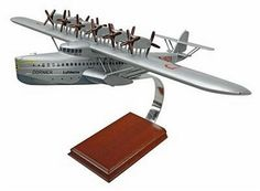 DO-X Seaplane Airliner Civilian Aircraft Model