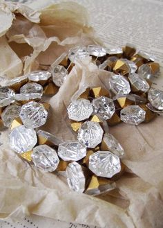Gorgeous VIntage Glass Buttons