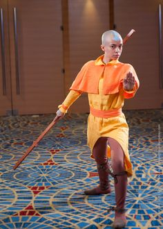 Aang at DragonCon 2010 by gstqfashions