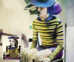 Eugenio Recuenco homages to Picasso through photography via Visual News