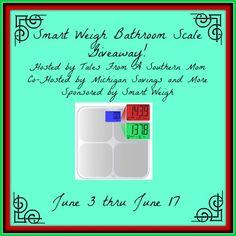 Smart Weigh Bathroom Scale Giveaway - Joyful Gifts by Julie