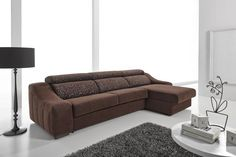 Ronaldo. Sofá cama con chaise longue / Sofa-bed and chaise longue