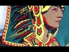Tapestry Crochet Project: Aztec Dancer