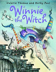 Winnie The Witch Books this is one of the books we read over and over again to the kids they loved it. We had a black cat at the time.