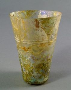 A Sasanian Moulded Glass Beaker, C. 6th-8th Century