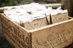 Great way to display favors #weddings #favors