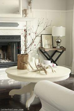 .. in the Fun Lane,  -- change white sofa to dark brown leather?