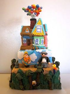 Another Disney Up cake! One word...AWESOME!!! :)