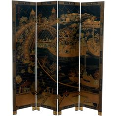 Home Decor Screens diy home decor craft projects seven inspirational home decor projects positively splendid crafts Floor Screen Decorative Screens Folding Screens Folding Room Dividers Wooden Frames Chinese Room Divider Asian Wall Art Festivals Home Decor