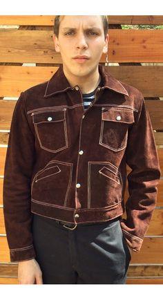 Vintage 70's Men's Suede Jacket