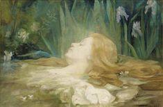 Ophelia,  1915, Marie Berthe Mouchel.