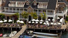 Lake House Restaurant where Sebastian takes Rachel for a romantic dinner on their first official date.