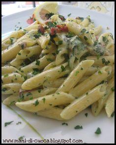 Mani di Cuoca: Pasta alla Crema di Limone, Pancetta Croccante e Spinaci al Salto