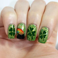 jackie18g is getting festive! Show us your best St. Patrick's Day nails—and they could be featured on our Pinterest and Instagram! Tag a pic of your festive mani with #SephoraStPaddys
