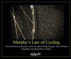 Murphy's Law Of Cycling | CyclingTips