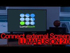 (7) How to Connect EXTERNAL SCREEN to Lumafusion/iPad - LumaFusion How to Tutorial - YouTube Connection, Ipad, Youtube, Youtubers, Youtube Movies