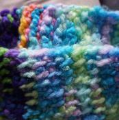 Tutti Fruity Crochet Tunisian Headband - via @Craftsy