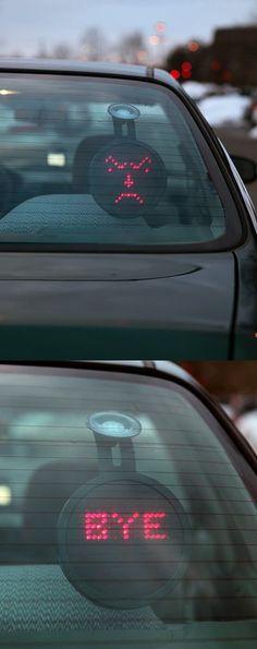 Drivemotion LED Car Sign |