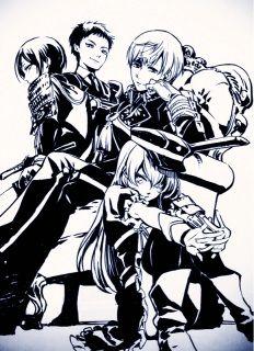 Official Art by Yana Toboso (not Kuroshitsuji)