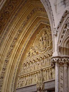 Gothic Cathedral Portal