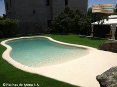 1000 images about paisajismo patios y piscinas en for Pileta en patio pequeno