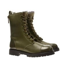 Acne Alpine Military Boots