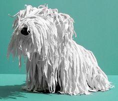 cute modroc dog - wow! we love love love this!!!!!!!! We're going to make one each!!