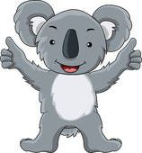 Koala bear Clip Art EPS Images. 208 koala bear clipart vector illustrations available to search from over 15 royalty free illustration and stock art brands.