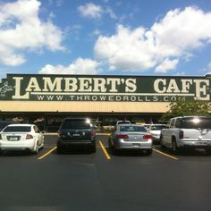 Lambert's Cafe ..... our very favorite Gulf Shores area restaurant .... they throw rolls =  )