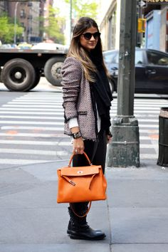 perfect bag with this perfect jacket