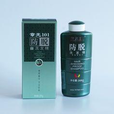 Zhangguang 101 Prueba de Caída Del Cabello Champú 200g potente detener la pérdida de pelo terapia de la medicina china contra la pérdida de cabello