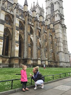 Backpacking with a baby in Europe. London