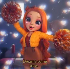 Dc Superhero Girls Dolls, Rowan, Girl Dolls, Poppy, Characters, Rainbow, Disney, Color, Cute Animals
