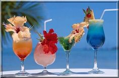 Bebidas Para Festa Havaí