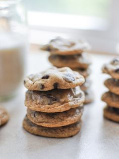whole wheat chocolate chip cookies | @How Sweet Eats