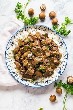 Making Beef Tips just got even easier when made in your crockpot or instant pot for fall-apart-tender and juicy steak tips with a brown gravy! Beef Tip Recipes, Crockpot Recipes, Beef Tips Slow Cooker, Beef Tips And Rice, Steak Tips, Cooking White Rice, Dump Meals, Juicy Steak, Instant Pot Dinner Recipes