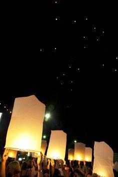 Chinese lanterns at KKNK 2012