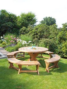 SonnenPartner Teak Holz Bank und Tisch Massiv QUANTUM 4 Varianten Outdoor Furniture Sets, Outdoor Decor, Home Decor, Houses, Beach Tops, Lounge Furniture, Tables, Decoration Home, Room Decor